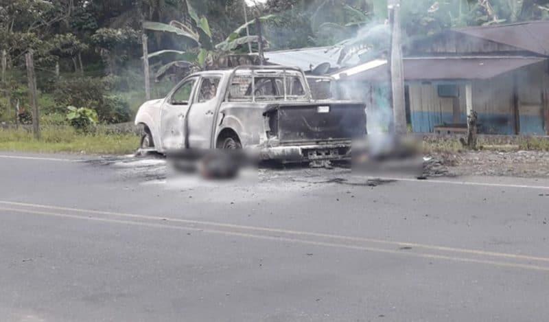 A la cárcel a presuntos responsables del asesinato de miembros del CTI en Tumaco