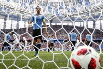 Uruguay se despide de Rusia tras perder con Francia en cuartos