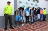 Policía desarticula banda criminal 'El Hueco' que operaba en el oriente de Cali