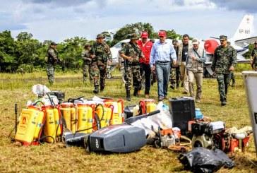 Al menos 51 detenidos en operativo antidrogas en frontera Perú y Colombia