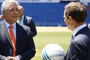 El incómodo momento que vivió el presidente electo, Iván Duque, en Madrid