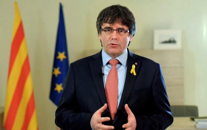 España renuncia a extradición de independentista catalán, Carles Puigdemont