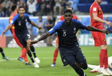 Francia, primer finalista del Mundial de Rusia 2018 tras derrotar a Bélgica