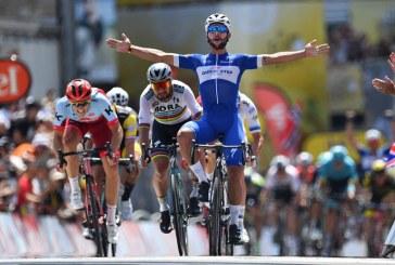 Colombiano Fernando Gaviria imparable, ganó la cuarta etapa del Tour de Francia