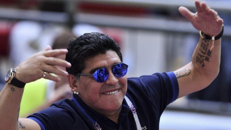 Habló Maradona tras la derrota de la Selección Colombia