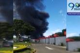 Bomberos controlan incendio en cercanías a reconocido motel en el sur de Cali