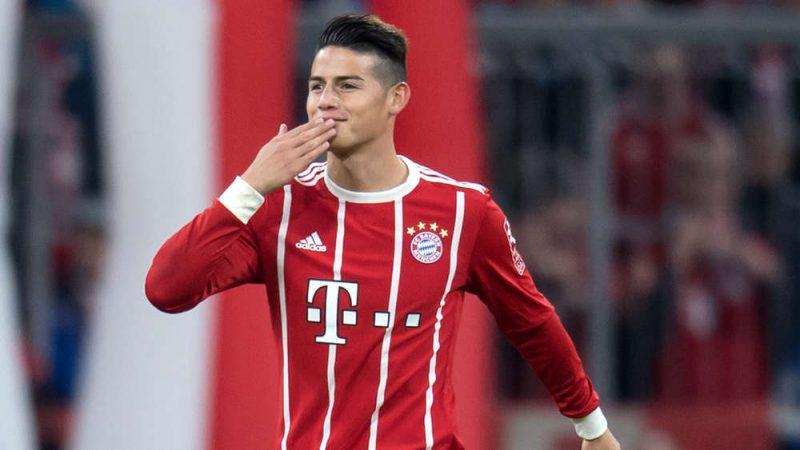 James Rodríguez celebra su cumpleaños 27 y su primer año en el Bayern Múnich