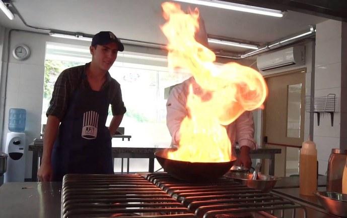 Cocinando en la Mariano Moreno – parte 1