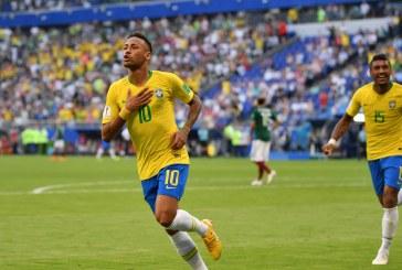 Con un Neymar de 'película', Brasil avanzó a Cuartos de final