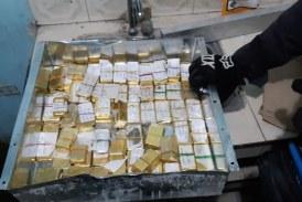 Incautan lingotes de oro pertenecientes al Clan del Golfo