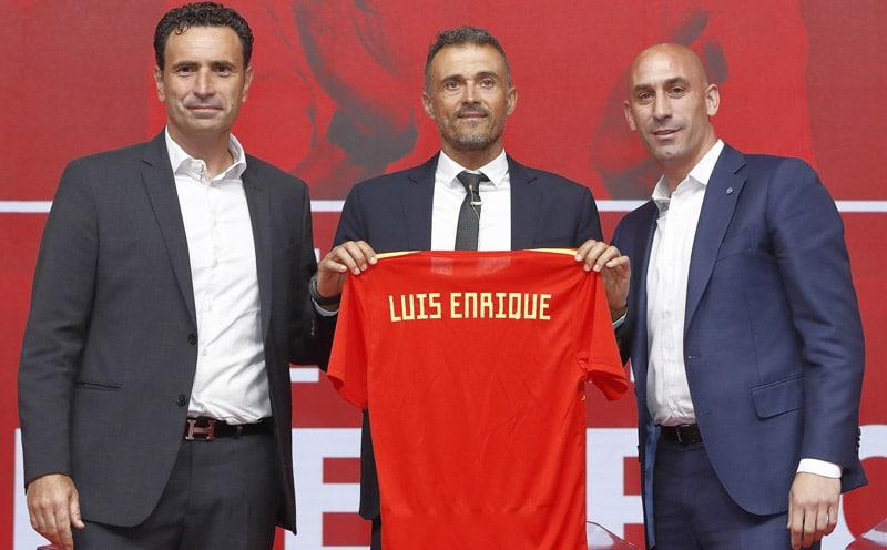 """Luis Enrique presentado como nuevo DT de España, promete """"un equipo agresivo"""""""