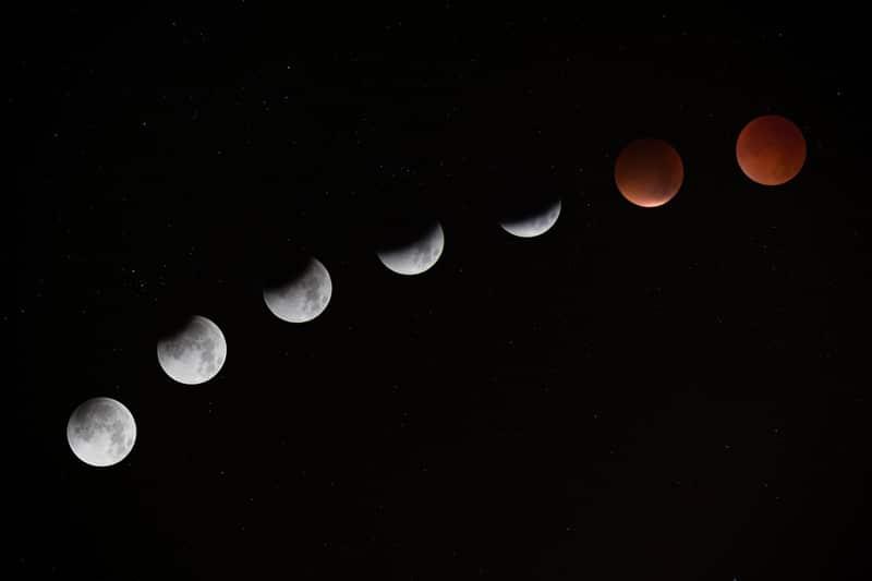 Las mejores fotos del eclipse más largo del siglo — Luna de Sangre