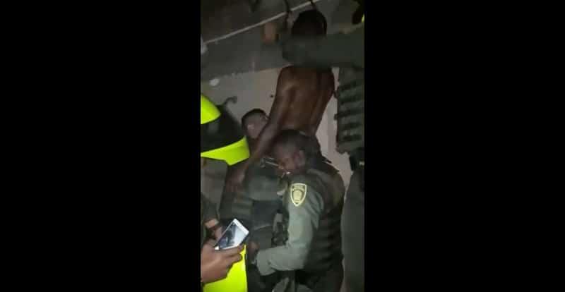 Miembros de la Policía salvaron la vida de un joven que intentaba ahorcarse en Cali