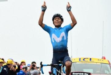 ¡Qué orgullo, qué categoría! Nairo Quintana ganó la etapa 17 del Tour de Francia
