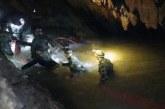 Rescatan a los 12 niños y a su entrenador atrapados en cueva en Tailandia
