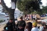 Habitante de calle fue brutalmente golpeado por un grupo de venezolanos en Cali