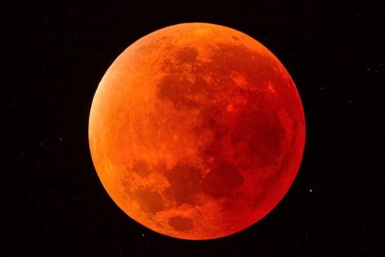 Este viernes habrá eclipse total de luna, estas son las horas en las que podrá verlo