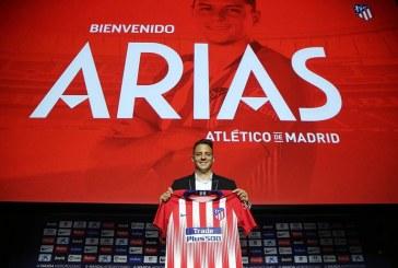 Santiago Arias fue presentado como nuevo jugador del Atlético de Madrid