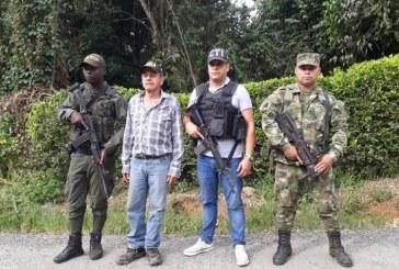 Agricultor que había sido secuestrado en Dagua, Valle, fue liberado por las autoridades