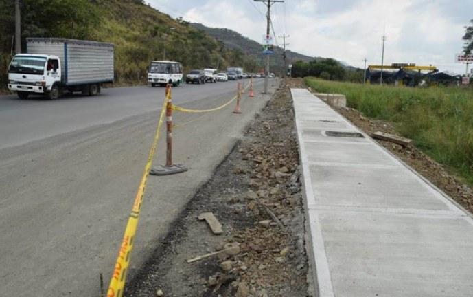 Por obras de doble calzada, el domingo estará cerrada la antigua vía Cali-Yumbo