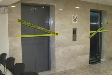 Los seis ascensores del Palacio del Justicia no son seguros para su uso, reveló informe