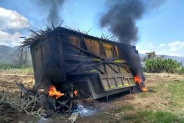 Asocaña rechaza intimidaciones y quema de terrenos de caña en Caloto, Cauca