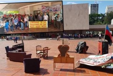 Habitantes del Jarillón completan más de un mes de protestas frente al CAM