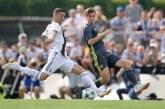 Cristiano Ronaldo marcó su primer gol con la Juventus en partido amistoso