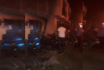 Cuatro personas afectadas tras explosión en Corinto