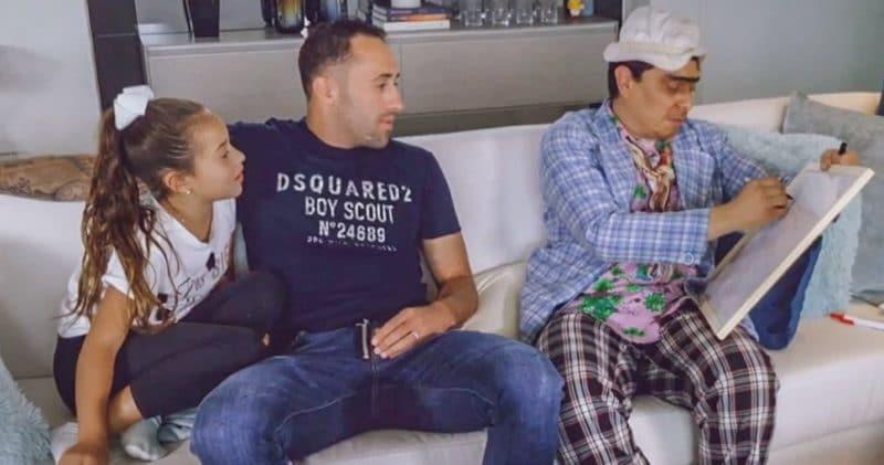 David Ospina y su hija recibieron fuertes críticas tras entrevista con 'Suso'