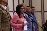 Vicrepresidenta de Venezuela habría culpado a Colombia por inundaciones en su país