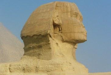 Descubren una nueva estatua de la Esfinge en la ciudad egipcia de Luxor