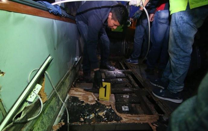 Video: confirman hallazgo de media tonelada de droga en bus accidentado en Ecuador