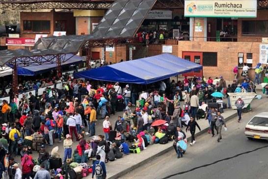 Medidas en Colombia tras exigencia de visa a venezolanos en Ecuador