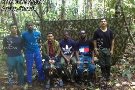 ELN habría entregado pruebas de supervivencia de los secuestrados en Chocó