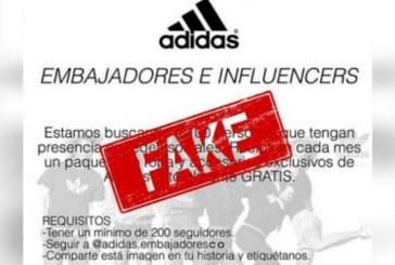¿Quieres ser embajador Adidas? lo que hay tras el nuevo viral de Instagram
