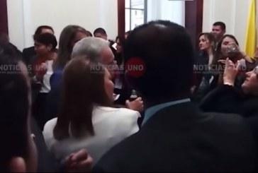Con Euforia reaccionó Centro Democrático a discurso de Macías en posesión de Duque