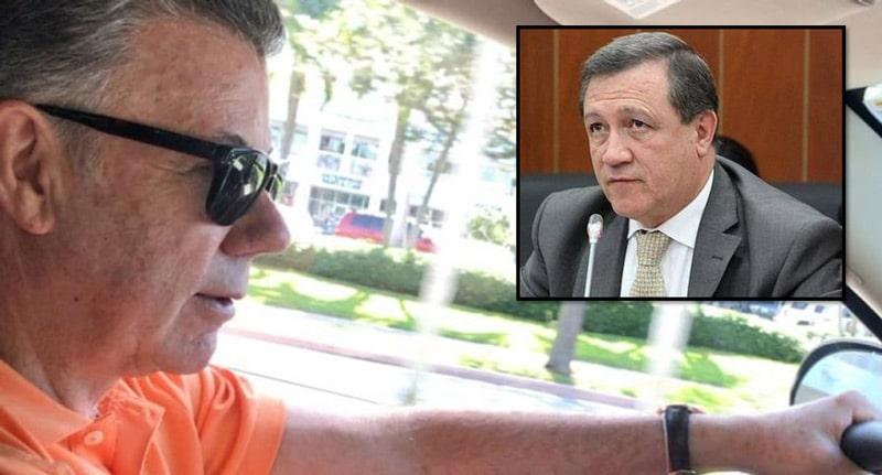 Salida del país de Santos será presentada ante la Comisión