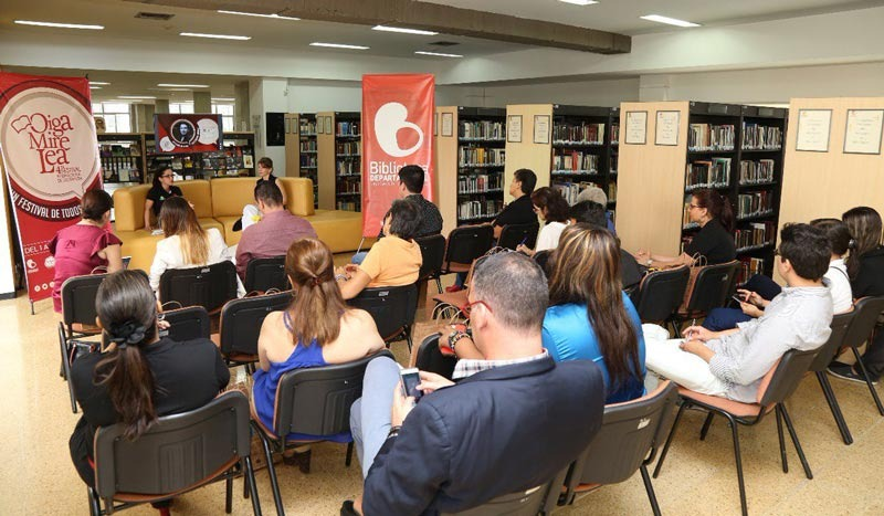La literatura se apoderó de los vallecaucanos en 'Oiga, mire, lea'