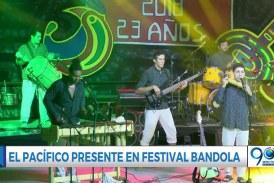 El Pacífico estuvo presente en el Festival Bandola de Sevilla
