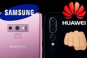 Huawei humilla al Samsung Galaxy Note 9