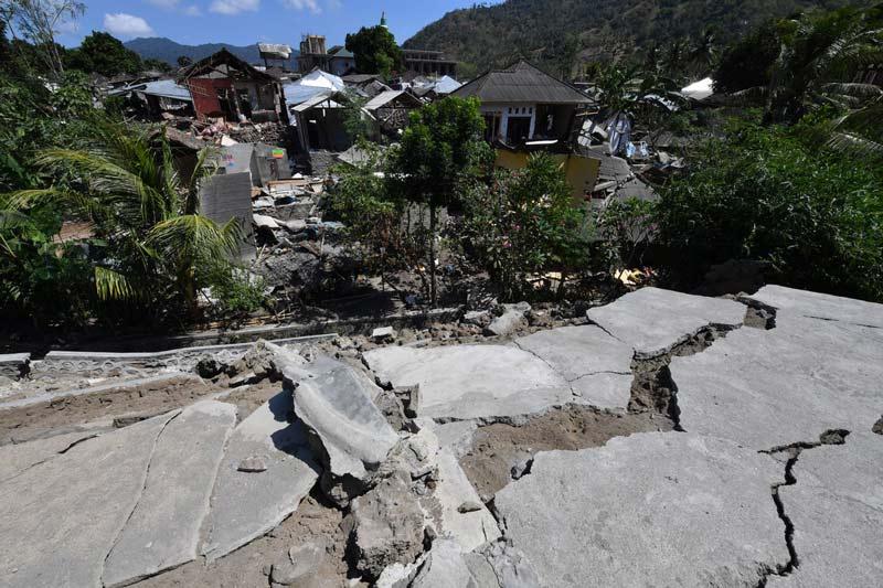 Indonesia eleva a 91 los muertos por terremoto en Lombok, hay 209 heridos