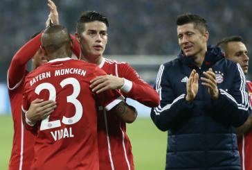 Buena amistad entre James y Vidal: le prestó su avión para el viaje a Barcelona