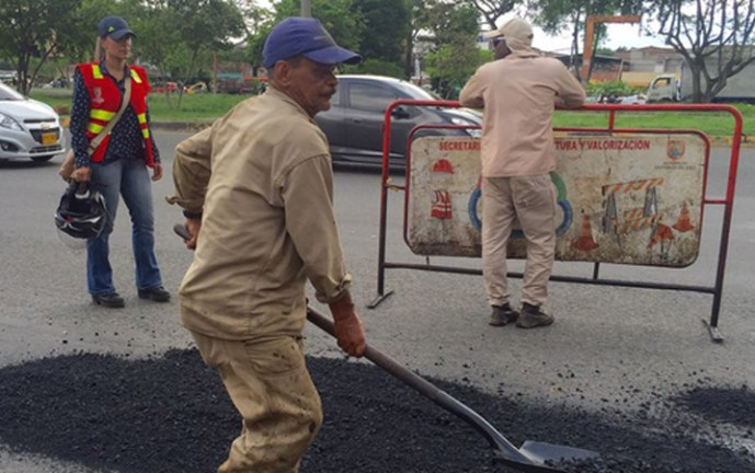 Realizan intervención en zonas aledañas a ciudadela del Petronio Álvarez