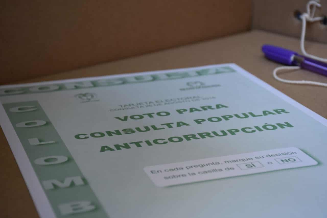 Menos de medio millón de votos faltaron para aprobación de Consulta Anticorrupción