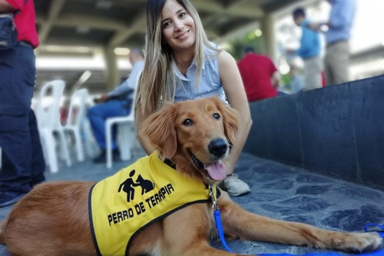 Perros guía y asistenciales se integran al Mío