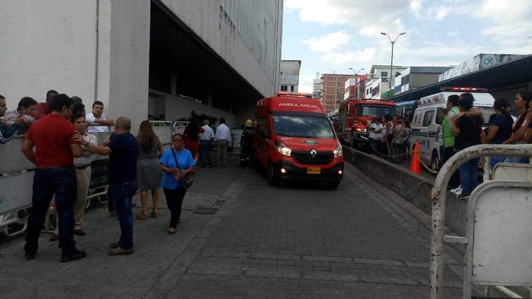 Dos muertos y 4 heridos deja desplome de ascensor en Palacio de Justicia de Cali