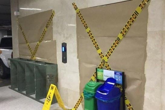 Caída de ascensor deja una persona herida en un centro comercial de Cali