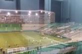 ¿Qué habría provocado los disturbios entre hinchas y policías en el estadio de Palmaseca?