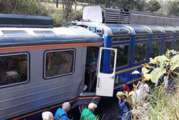 Al menos 31 personas heridas tras choque de trenes cerca a Machu Picchu, Perú